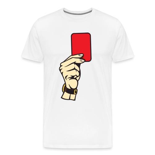 Rote Karte - Männer Premium T-Shirt