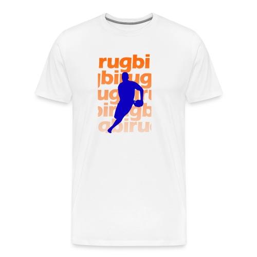 Silueta rugbi home - Camiseta premium hombre