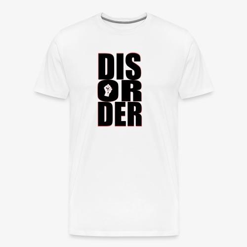 Disorder Logo Schwarz - Männer Premium T-Shirt