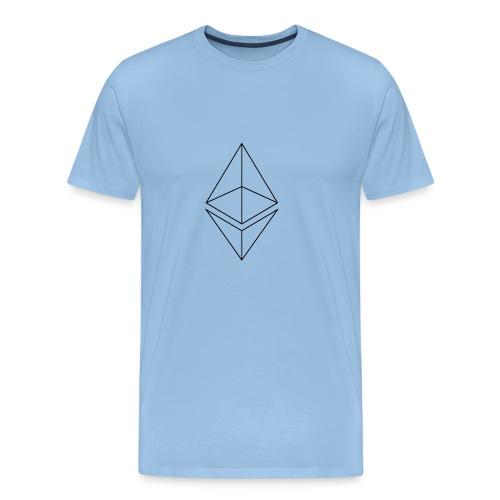 Ethereum - Miesten premium t-paita
