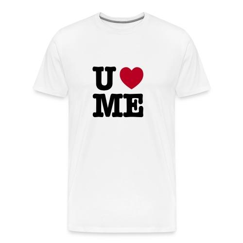 You love me - Mannen Premium T-shirt