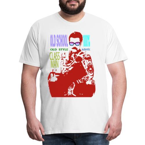 CLASS MAN - Maglietta Premium da uomo