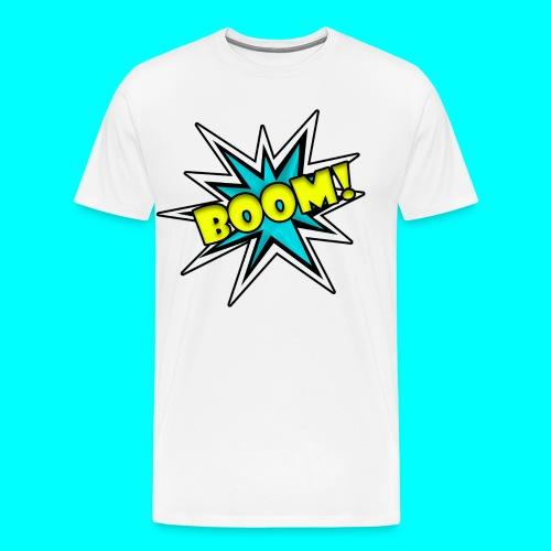 Comic Book Boom - Men's Premium T-Shirt