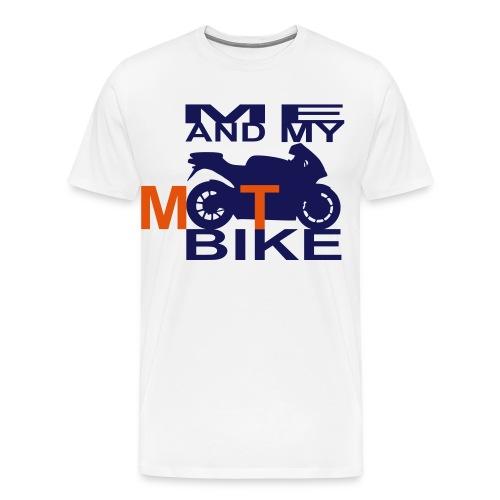 ME AND MY MOTOBIKE 2 - Männer Premium T-Shirt