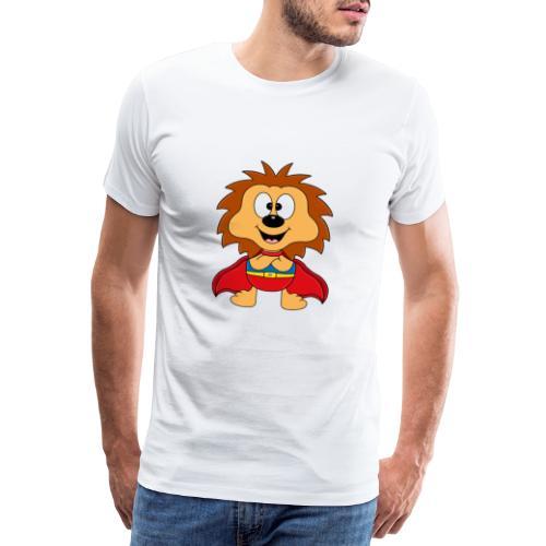 Lustiger Igel - Superheld - Kind - Baby - Tier - Männer Premium T-Shirt