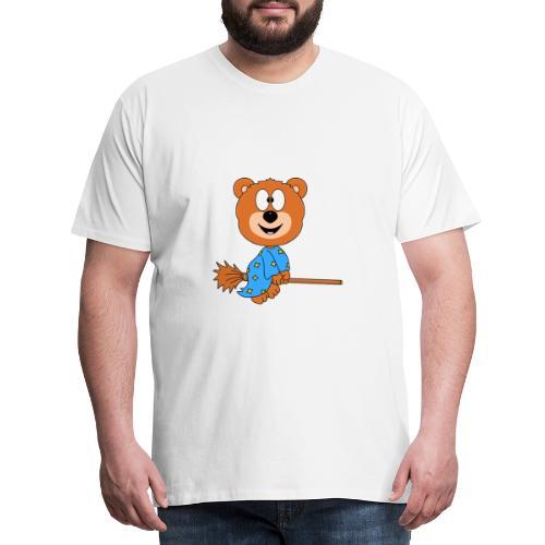 Lustiger Teddy - Bär - Hexe - Kind - Baby - Fun - Männer Premium T-Shirt