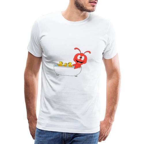 Lustige Ameise - Badewanne - Kind - Baby - Fun - Männer Premium T-Shirt