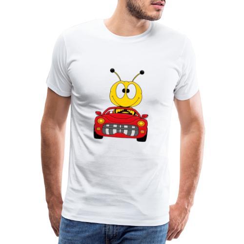 Lustige Biene - Auto - Cabrio - Tier - Fun - Männer Premium T-Shirt