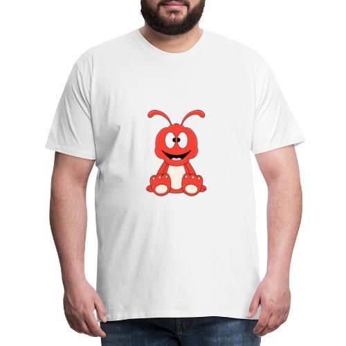 Lustige Ameise - Ant - Kind - Baby - Tier - Fun - Männer Premium T-Shirt