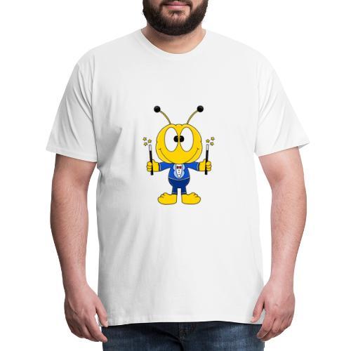 Lustige Biene - Bee - Zauberer - Magier - Fun - Männer Premium T-Shirt