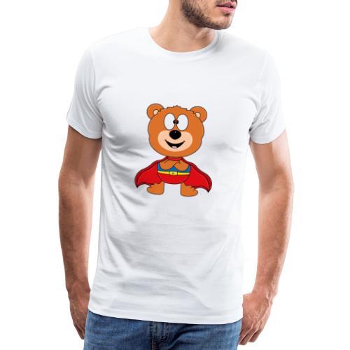 Teddy - Bär - Superheld - Kind - Baby - Tier - Männer Premium T-Shirt