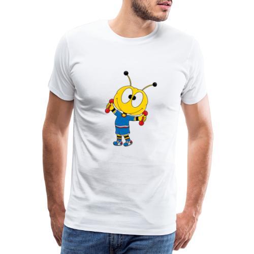 Biene - Fitness - Handeln - Muskeln - Sport - Männer Premium T-Shirt
