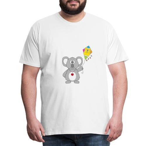 Panda - Drachen - Kite - Tier - Kind - Baby - Männer Premium T-Shirt