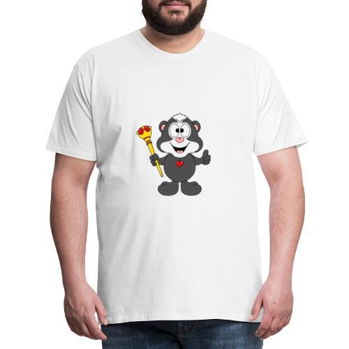 Stinktier - König - Königin - Tier - Kind - Baby - Männer Premium T-Shirt