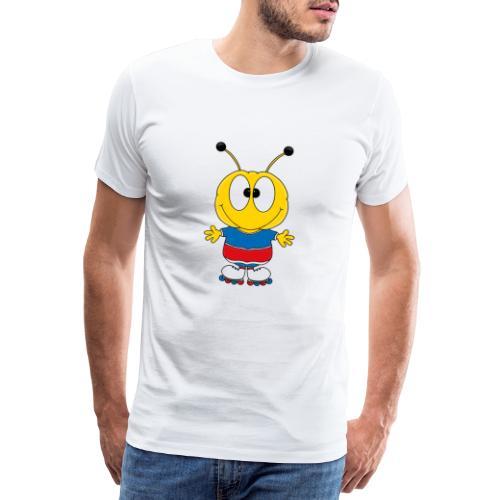 Biene - Inline Skates - Sport - Tier - Kind - Männer Premium T-Shirt