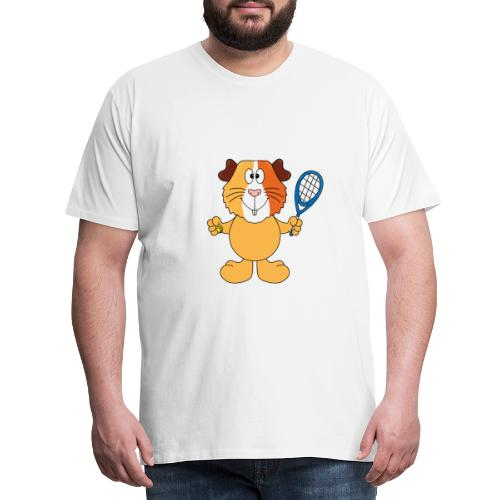 Meerschweinchen - Tennis - Sport - Tier - Kinder - Männer Premium T-Shirt
