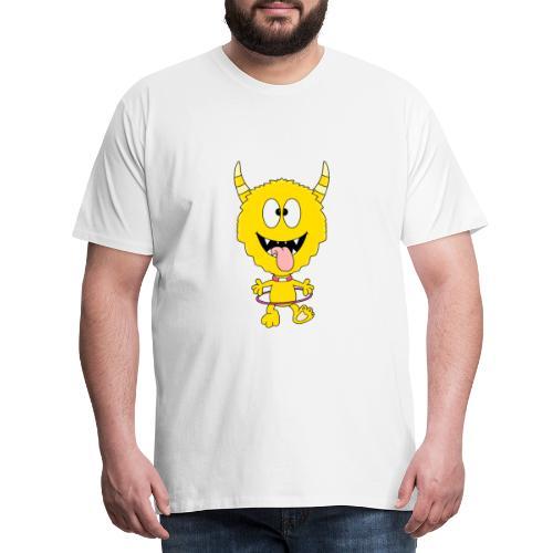 Monster - Hula-Hoop-Reifen - Kind - Baby - Männer Premium T-Shirt