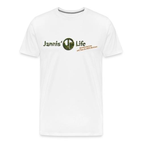 Jannis' Life - Männer Premium T-Shirt