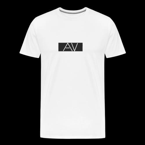 AV White - Men's Premium T-Shirt