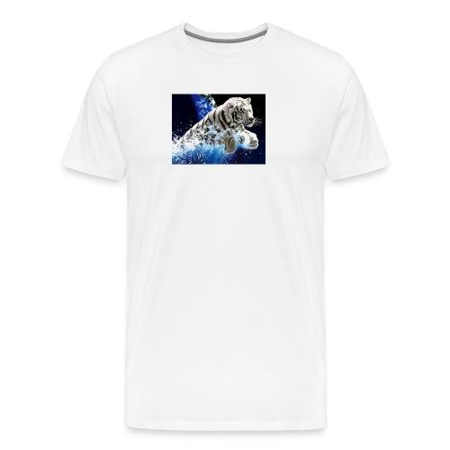 tigern - Herre premium T-shirt