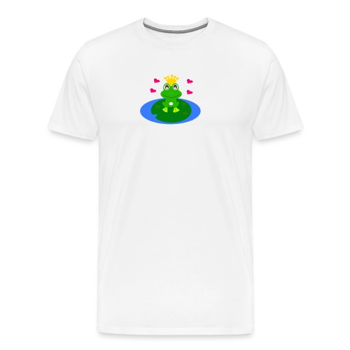 Froschkönig - Männer Premium T-Shirt