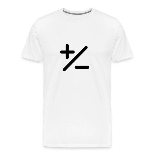PLUSminus - Männer Premium T-Shirt