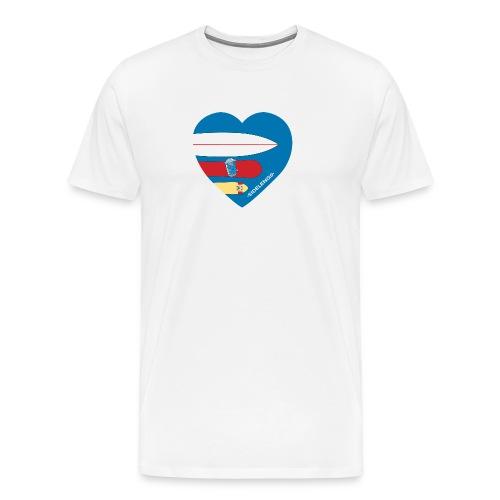 sidelengsbl - Premium T-skjorte for menn