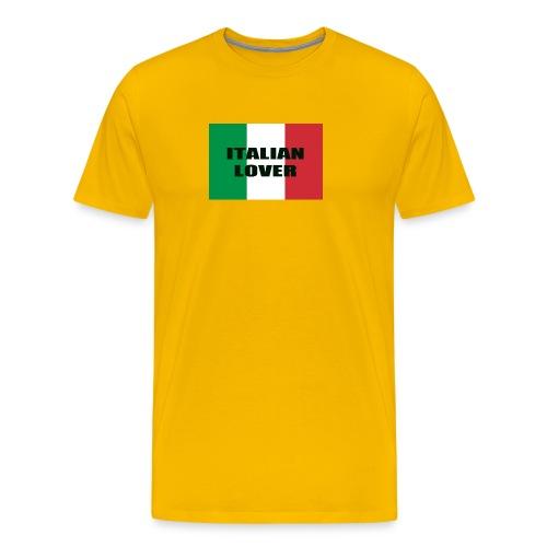 ITALIAN LOVER - Maglietta Premium da uomo