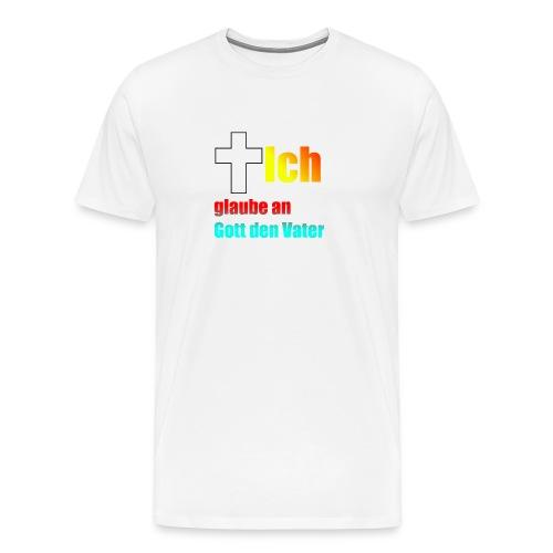 Das glaube Ich Design - Männer Premium T-Shirt