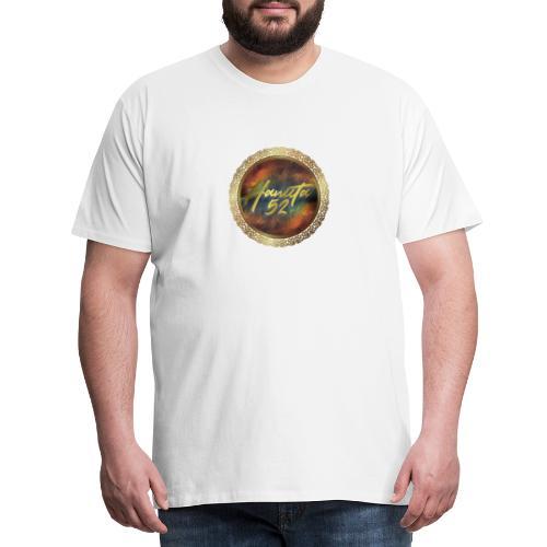 Hanuta52 Gold in Space - Männer Premium T-Shirt