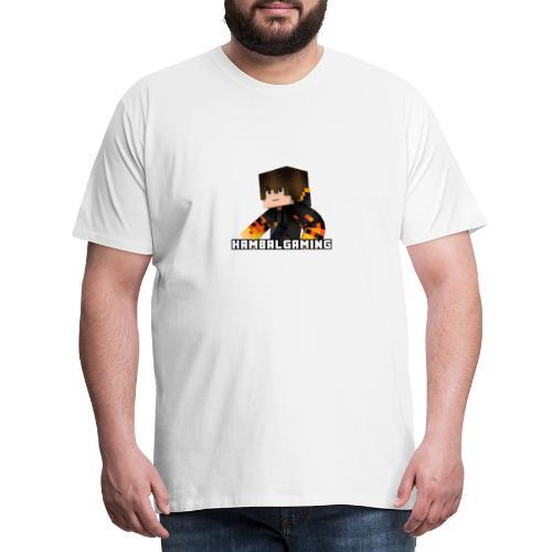 HambalGaming Merch - Herre premium T-shirt