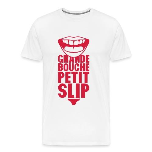 grande bouche petit slip expression 20 - T-shirt Premium Homme