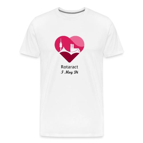 DeuKo19 (schwarzes Logo) - Männer Premium T-Shirt