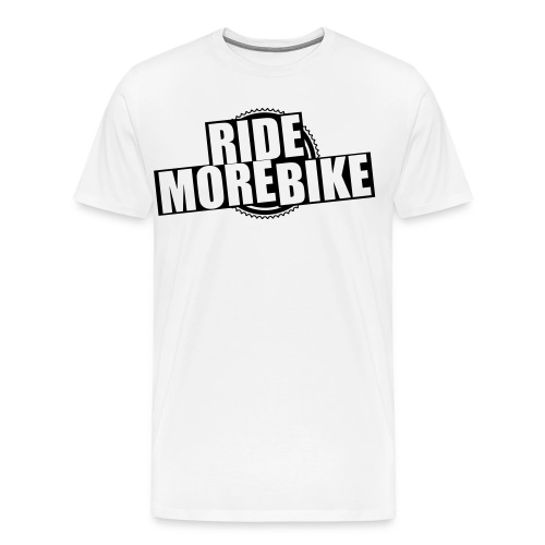 RIDE MORE BIKE Bio-Hoodie - Männer Premium T-Shirt