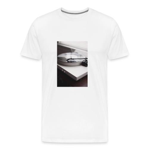 Plattenspieler - Männer Premium T-Shirt