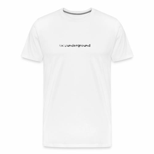 lu-type-cartoony2 - Men's Premium T-Shirt