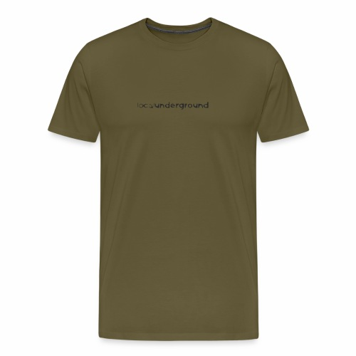 lu-type-cartoony2 - Men's Premium T-Shirt