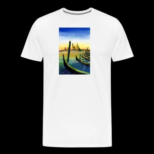 Venedig Sonnenuntergang. San Giorgio - Männer Premium T-Shirt
