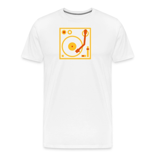 Turntable DJ - Men's Premium T-Shirt