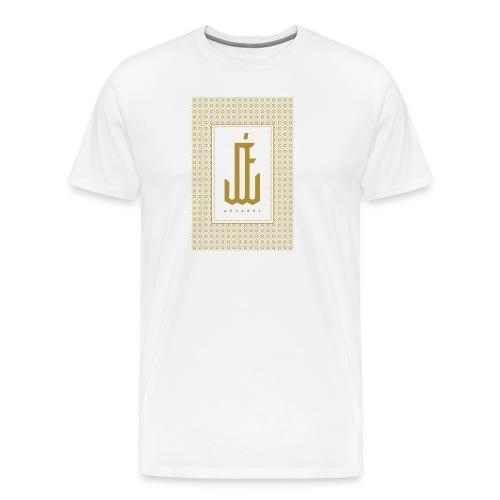 "Jardin d'Eden ""Greek 2 Art Deco"" White - Männer Premium T-Shirt"