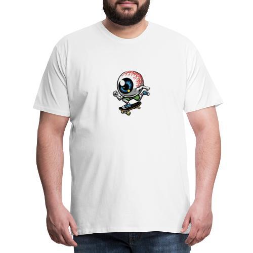 Skate øye - Men's Premium T-Shirt
