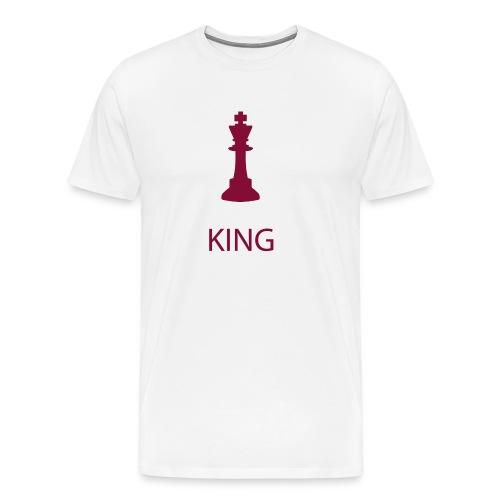 Yo soy el rey - Camiseta premium hombre