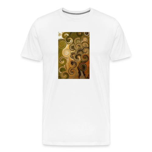 digital Acryl Artwork - Männer Premium T-Shirt
