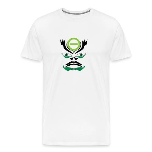 Negative Kabuki Mask - Männer Premium T-Shirt