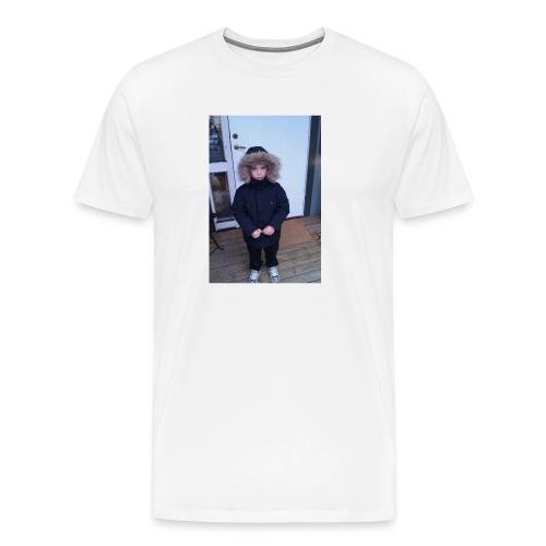 bra bild på mig som 4 år gammal - Premium-T-shirt herr