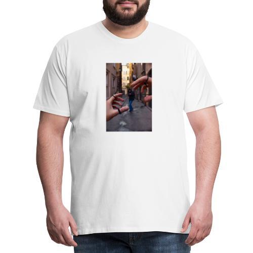 string theory - Maglietta Premium da uomo