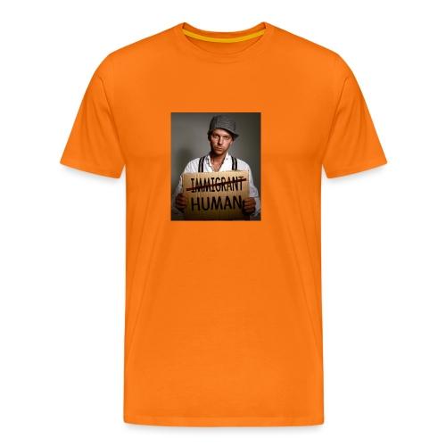Immigrants are human - Men's Premium T-Shirt