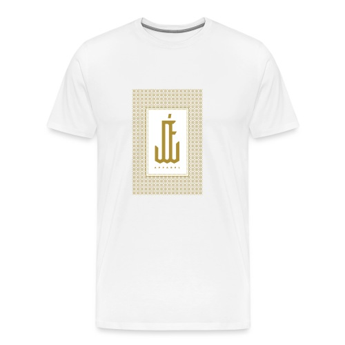 "Jardin d'Eden ""Greek 2 Art Deco"" White - Männer Premium T-Shirt"