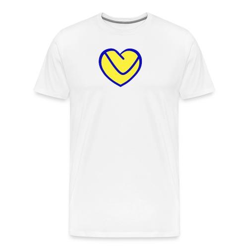 LUFC Heart - Men's Premium T-Shirt