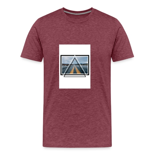 On the Road - T-shirt Premium Homme
